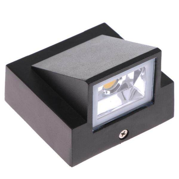 New Fashion Outdoor 3W LED Wall Sconce Light Waterproof Building Exterior Gate Lamp