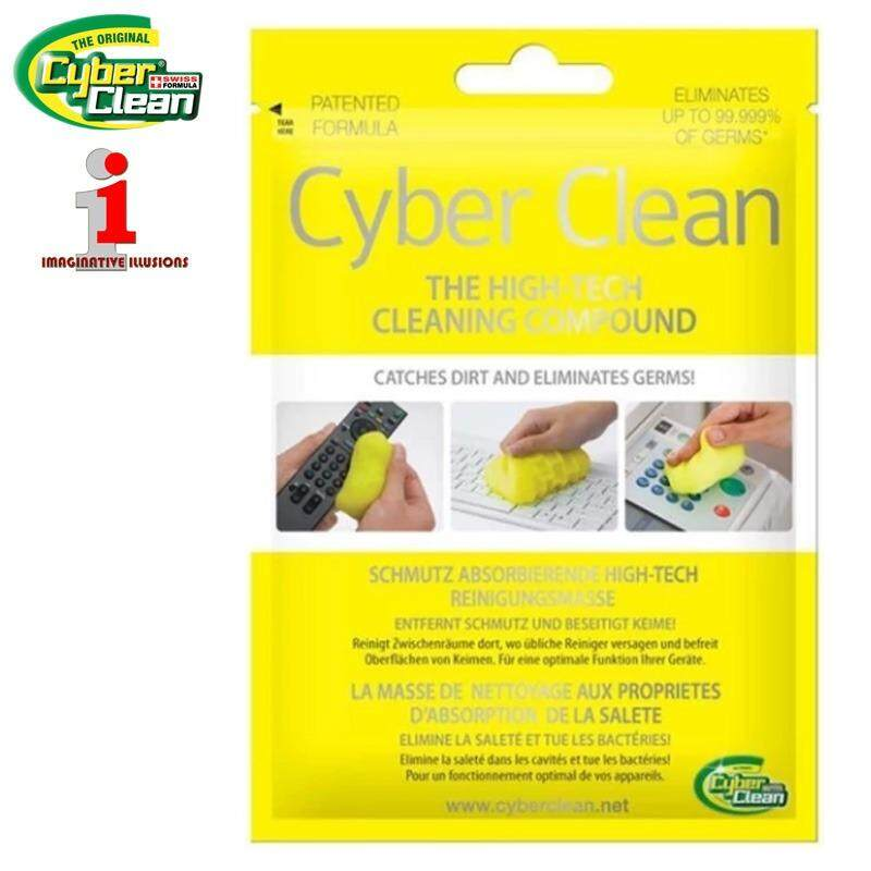 Cyber Clean Home and Office Zip Bag 80g High-Tech Cleaning Compound Malaysia
