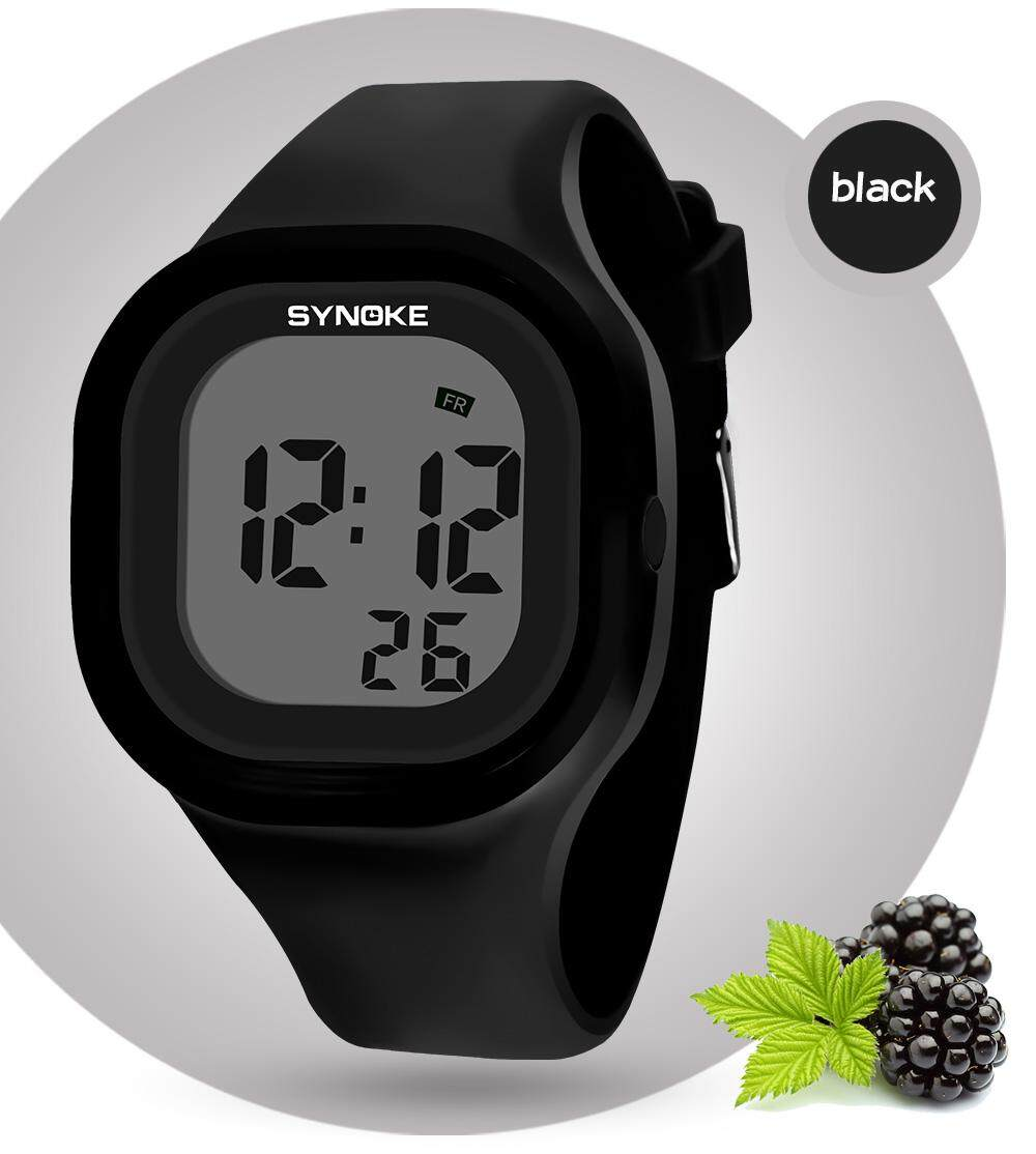 SYNOKE Brand Watch Sport Watches Timer LED Black Light Digital Wristwatches 30M Waterproof Alarm Clock 66896 bán chạy