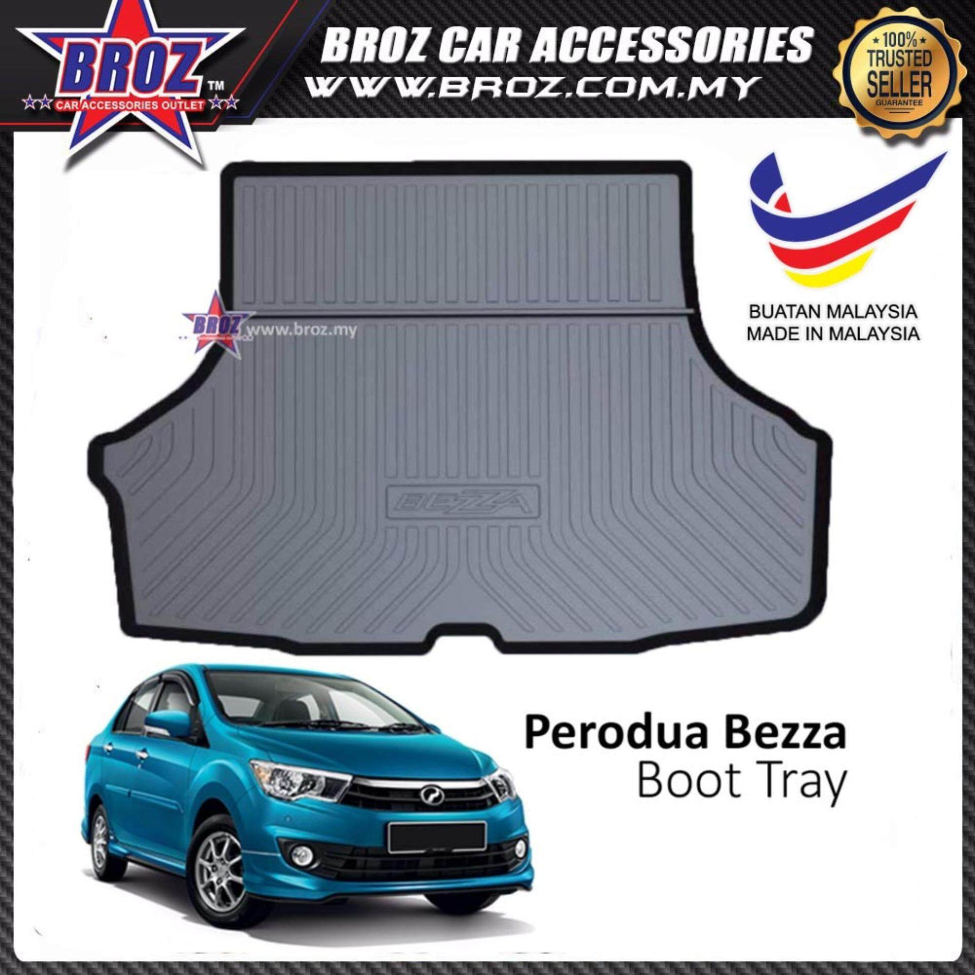 Perodua Bezza ABS Car Rear Boot Trunk Tray