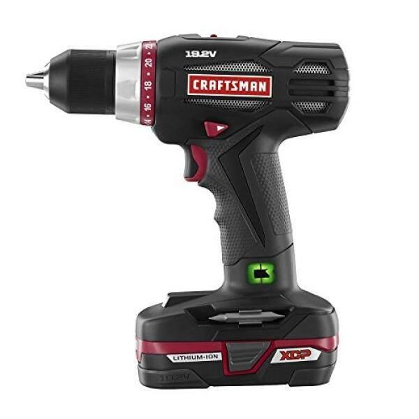 Craftsman 19.2V Xcp Heavy Duty Drill - intl