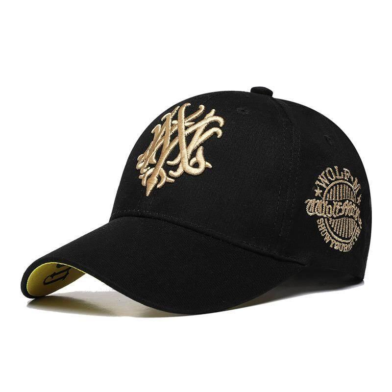 62d7b0e9 Cotton Black Seball Cap Leisure Men Sport Cap Summer Quick-drying Sun Hat  UV Protection