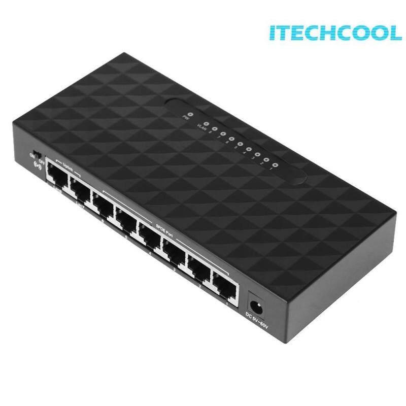 Bảng giá 8 cổng 10/100 Mbps POE Ethernet Mạng Lan Hub Ethernet Thông Minh Switcher Hỗ Trợ 6- 55 v Cung Cấp Điện - quốc tế Phong Vũ