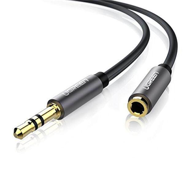 UGREEN 3.5mm Male to Female Extension Stereo Audio Extension Cable Adapter Gold Plated Compatible for iPhone, iPad or Smartphones, Tablets, Media Players ...