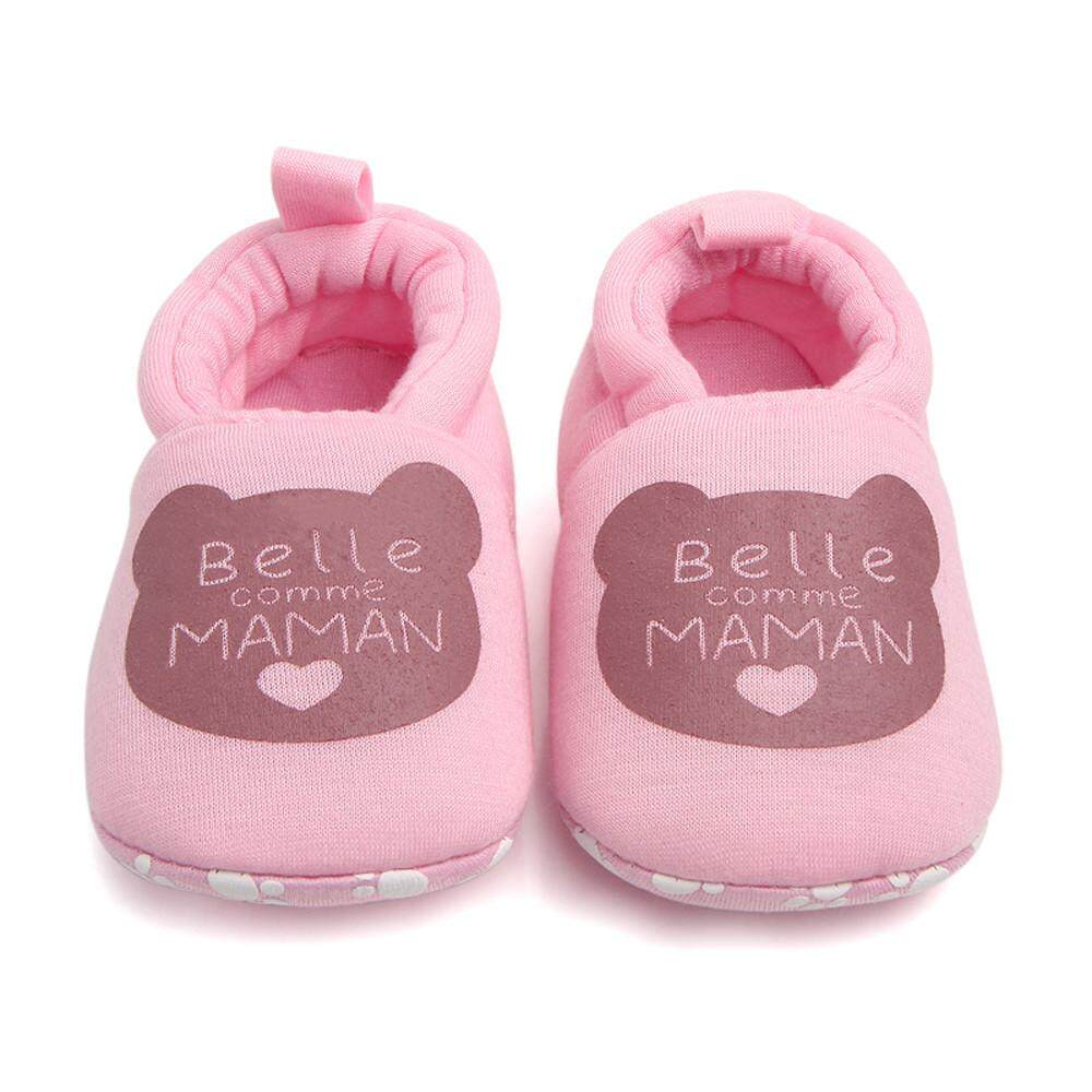 a27da2cb03665 Bairdstore Lovely Toddler First Walkers Baby Shoes Round Toe Flats Soft  Slippers Shoes