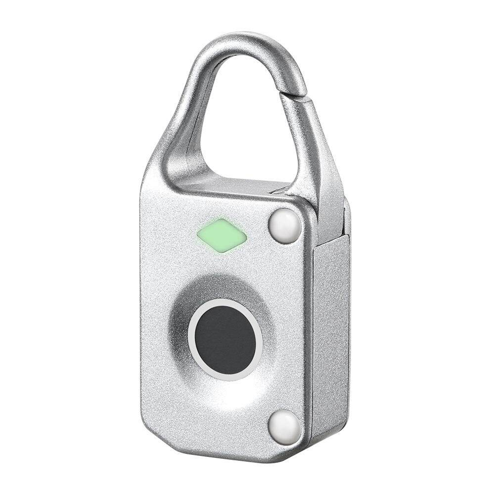 Keyless Anti Theft Fingerprint Lock Electronic Intelligent Mini Luggage Padlock Biometric Waterproof