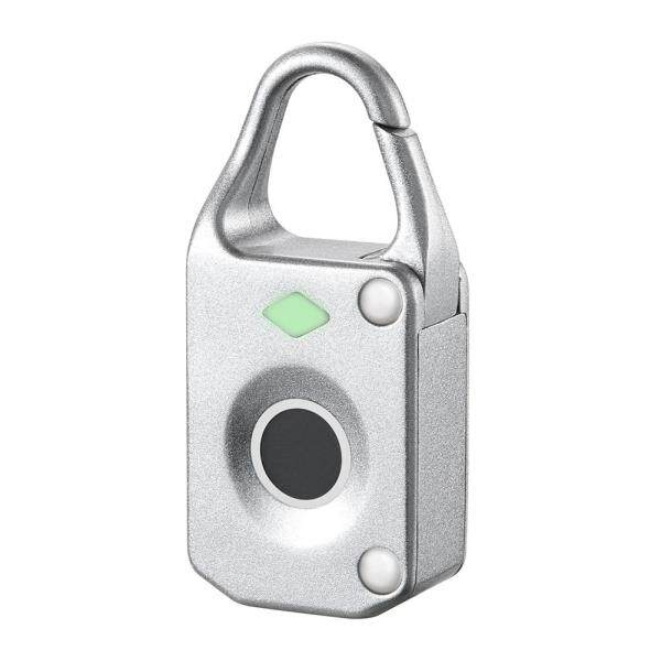 Keyless Anti Theft Fingerprint Lock Electronic Intelligent Mini Luggage Padlock Biometric Waterproof