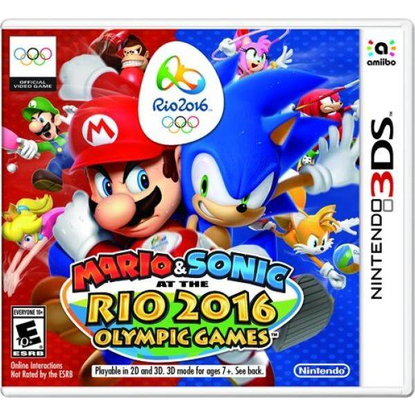 Mario & Sonic at the Rio 2016 Olympic Games - Nintendo 3DS Standard Edition - intl