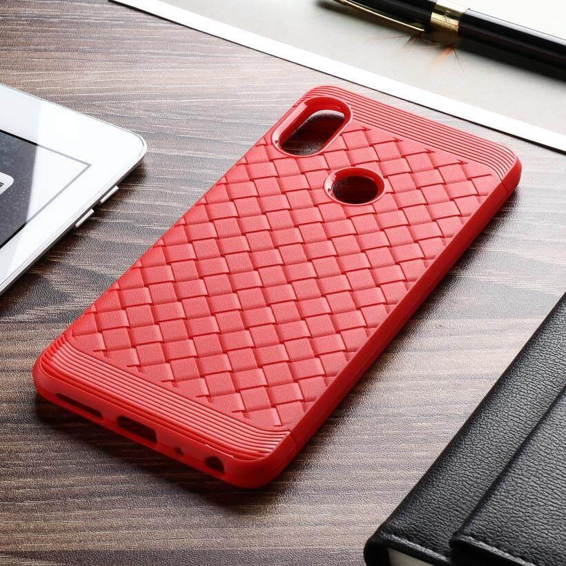 AKABEILA Woven TPU Phone Case For Xiaomi 6X Mi 6X Xiaomi Mi A2 Xiaomi Redmi Note 5 Pro Note 5 Global Version 5.99 inch Covers Phone Back Case Bag Housing Cover
