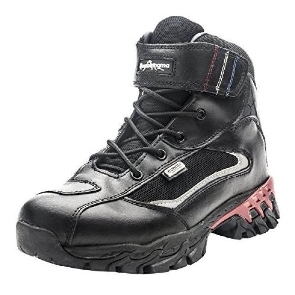 Qomolangma Kulit Wanita Sepatu Bot Mendaki Tahan Air Sepeda Motor Ringan Boots untuk Jalur Trekking Outdoor-Intl