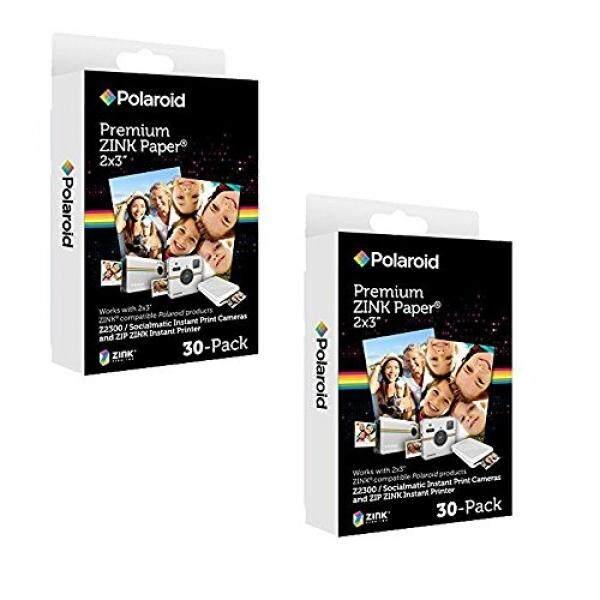 Polaroid 2X3 Inch Premium Zink Kertas Foto (60 Lembar)-Kompatibel dengan Jepretan Polaroid, Z2300, socialmatic Instan Kamera & Zip Instan Printer-Intl