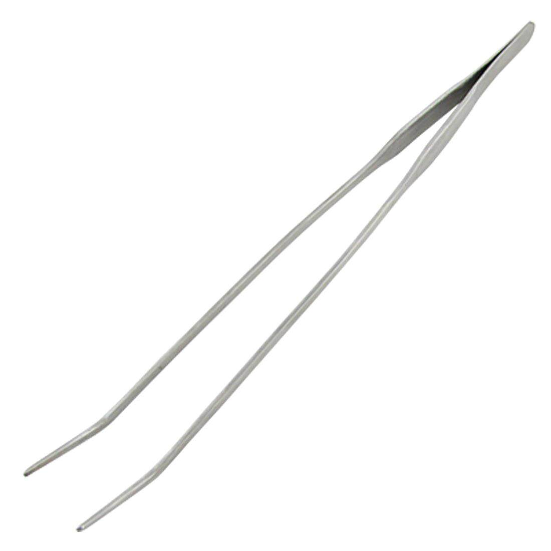 Plant Stainless Steel Curved Tweezer Clip for Fish Tank - intl Philippines