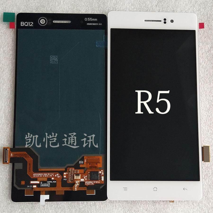 Cocok untuk oppo R5/8107/8109/8105 R7t C asli layar LCD Layar perakitan dibingkai