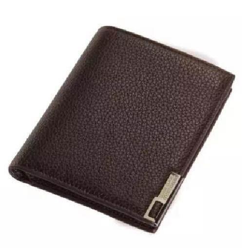 Baellerry WLT-039 DR622 Litchi Grain Retro Top Quality Leather Men Short Wallet(LONG STYLE)