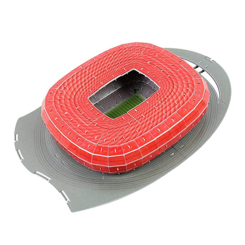 BolehDeals 3D Puzzle Different Countries Football Field Model Munich Allianz Stadium