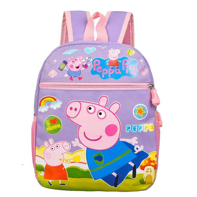 2ea3e3f32c87 Waterproof Ultralight Kids Children Backpack School Bag Korean Style-3D  Cartoon Little Pig Pre School