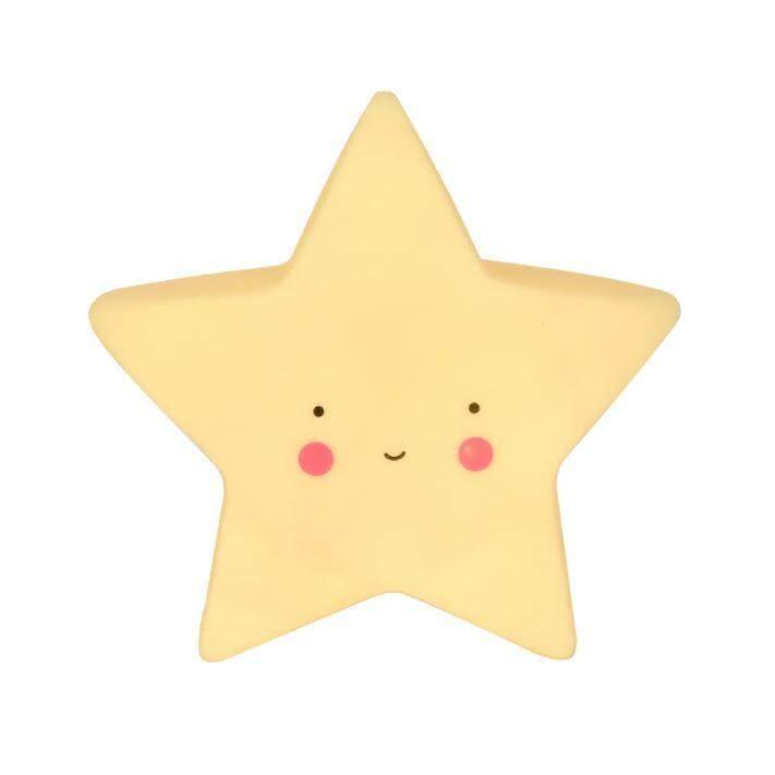 Cute LED Star Baby Night Lamp