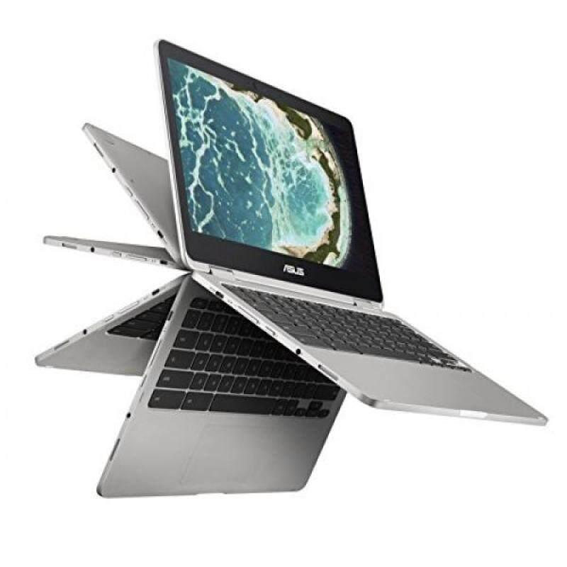 ASUS C302CA-DHM4 Chromebook Flip 12.5-inch Touchscreen Convertible Chromebook, Intel Core m3, 4GB RAM, 64GB Flash Storage, All-Metal Body, USB Type C, Corning Gorilla Glass, Chrome OS - intl