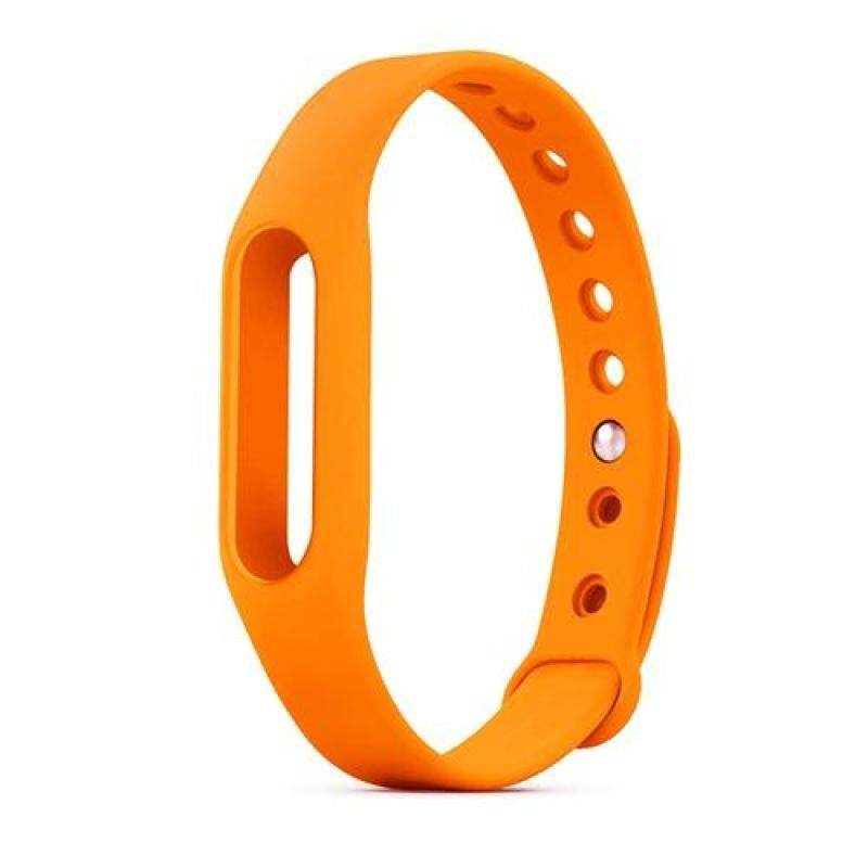 Bluelans® Replacement Silicone Wrist Strap Bracelet Wristband for Xiaomi Mi Band 1 1S (Pink) Malaysia