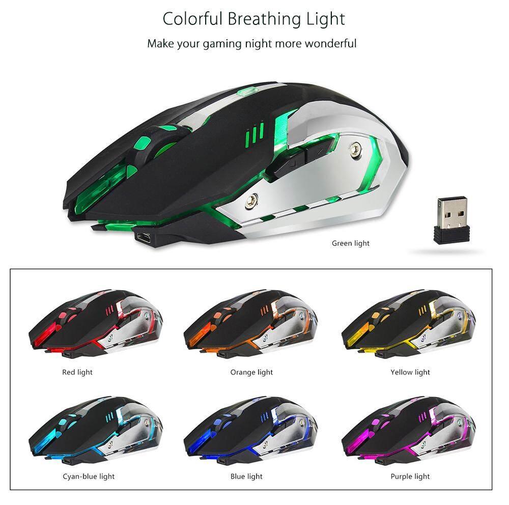 [Local Shipping] ZERODATE X70 Dual-mode Gaming Mouse 2400DPI