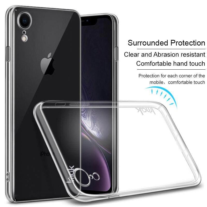 Imak For Apple Iphone XR Transparent Crystal Ultra Slim Hard Plastic Case 6.1 Inch