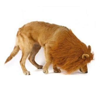... Pencarian Termurah Chunnuan Kostum Hewan Peliharaan Anjing Wig Singa Surai Rambut Syal Pakaian untuk Pesta Festival