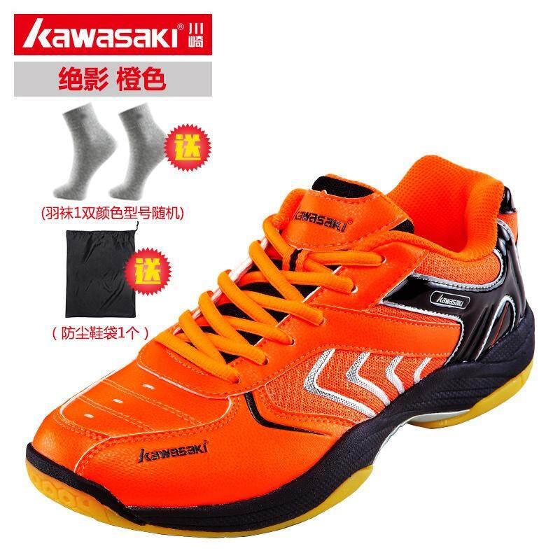 Kawasaki/kawasaki Model Baru Sepatu Bulutangkis Pria Dan Wanita Olahraga Santai Anti Selip Tahan Banting Peredam Guncangan Ringan Sepatu Olahraga By Koleksi Taobao.