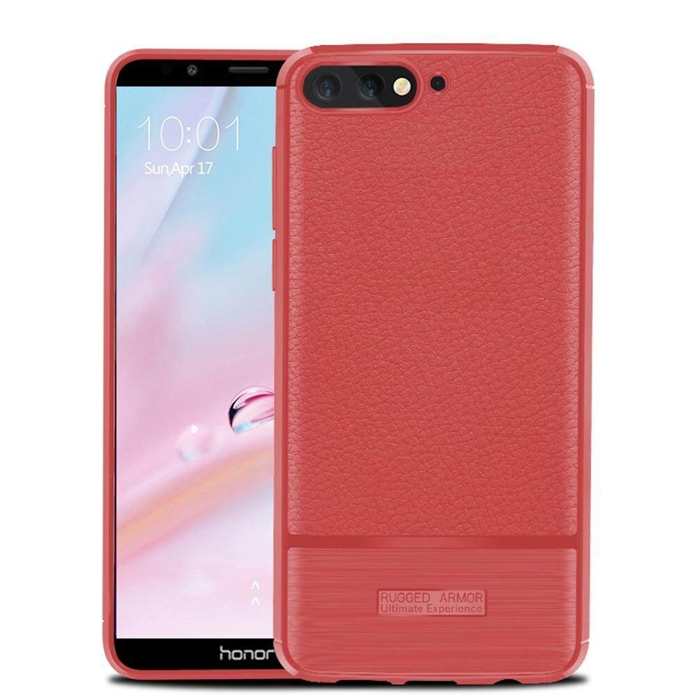 Hicase Premium PU Back Cover For Huawei Y6 2018 5.7