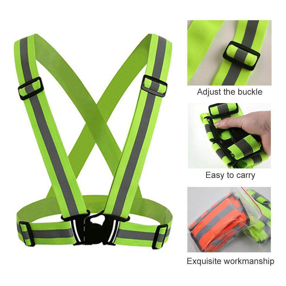 ... High Visibility Safety Reflective Strips Bands, Elastic And Adjustable Running Reflective Gear For Men And Women For Night Running, Biking, Walking By ...