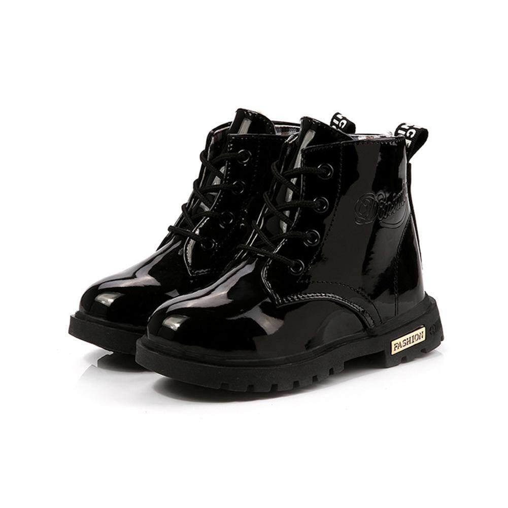 PL Trẻ Em Unisex Thời Trang Giày Ngắn Màu Giày Chống Nước Boot
