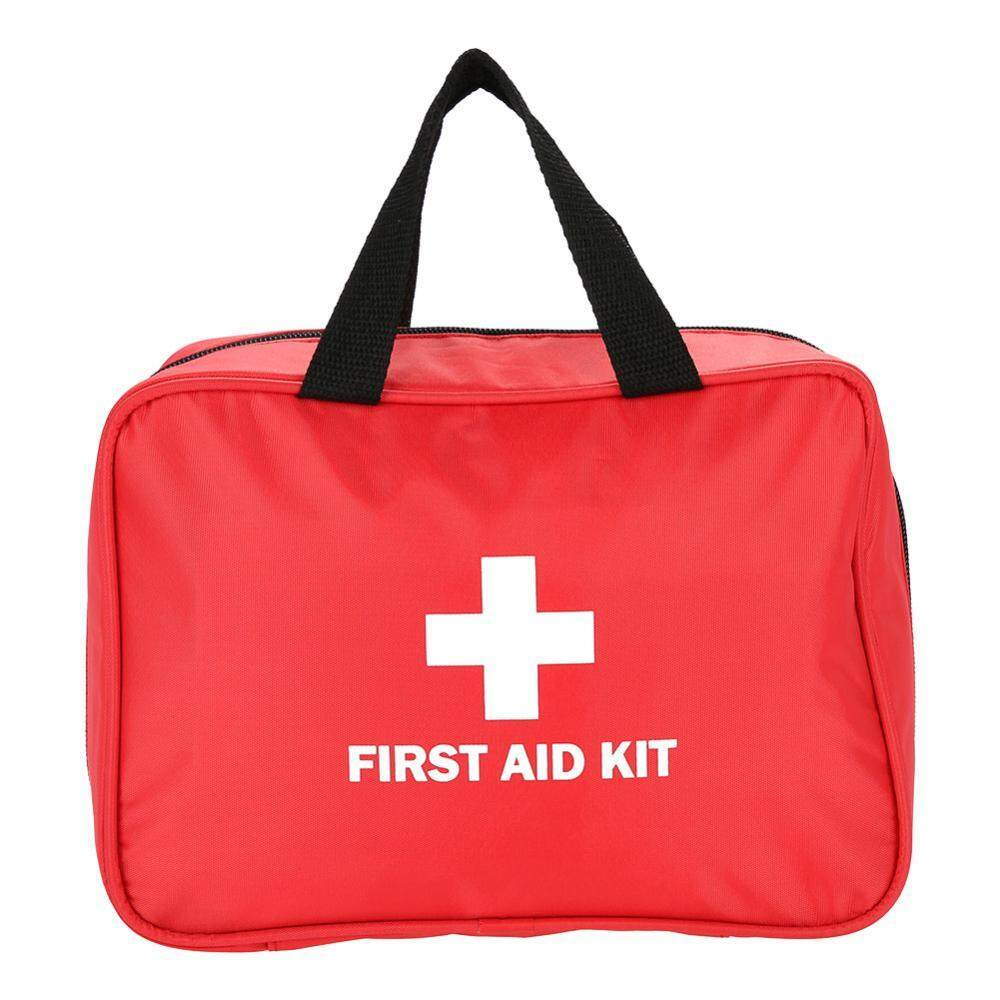 Home Outdoor Travelling Medical Storage Box Case First Aid Bag Emergency Red - intl