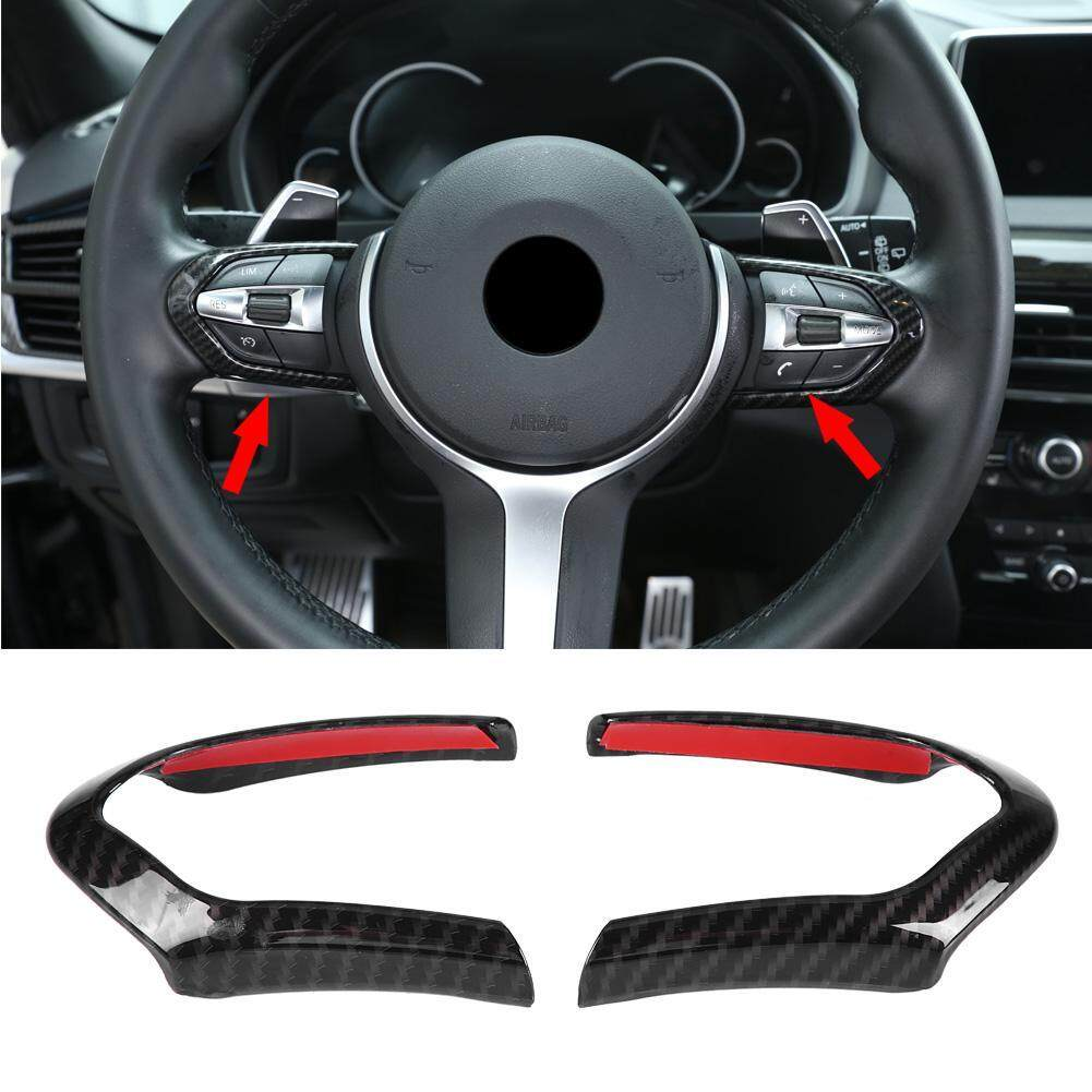 2 Pcs Roda Kemudi Cover Trim Frame Untuk Bmw F20 F22 F30 F32 F10 F06 F15 F16 By Car-Mall.