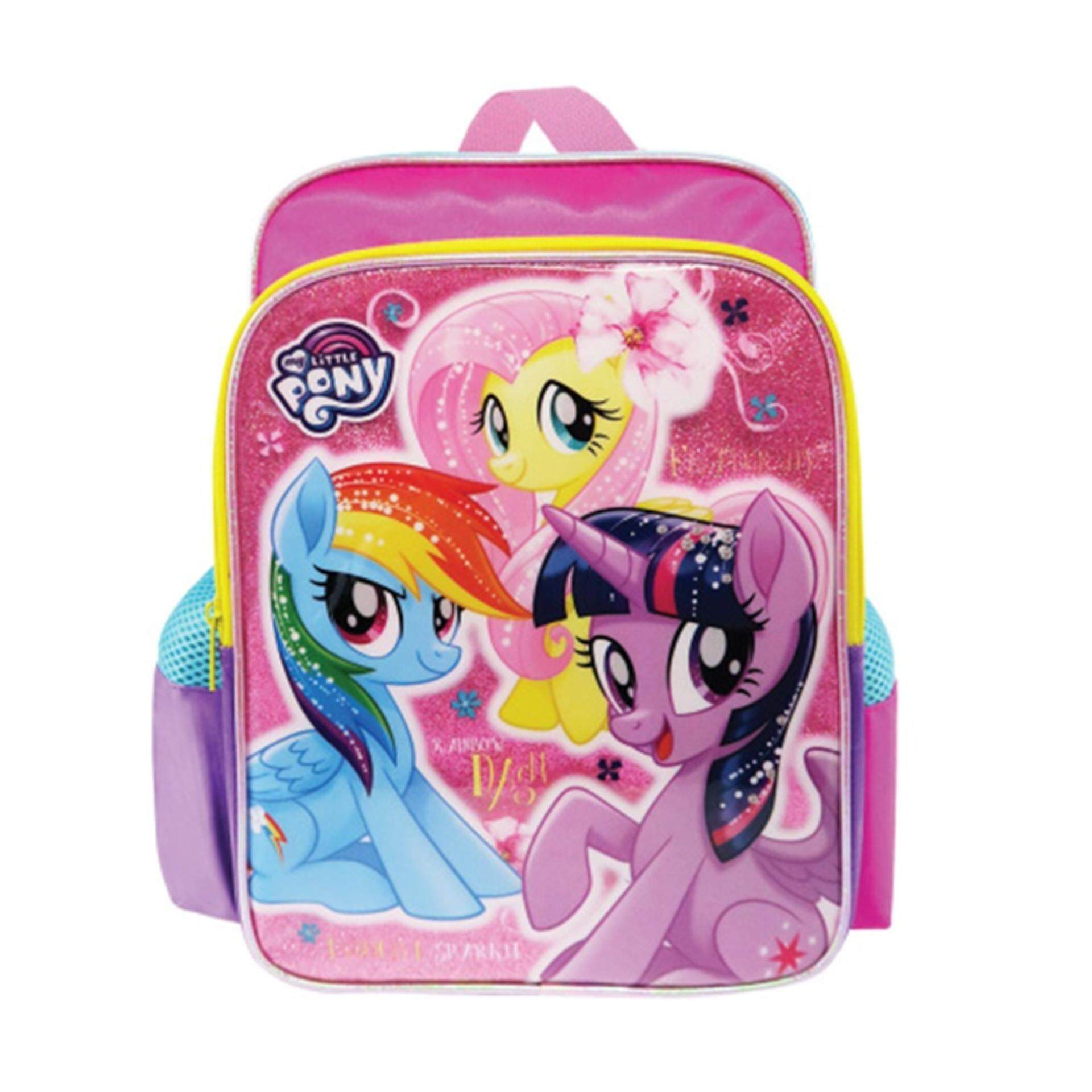 7278caa2cf9d My Little Pony Backpack School Bag 12 Inches - Pink Colour