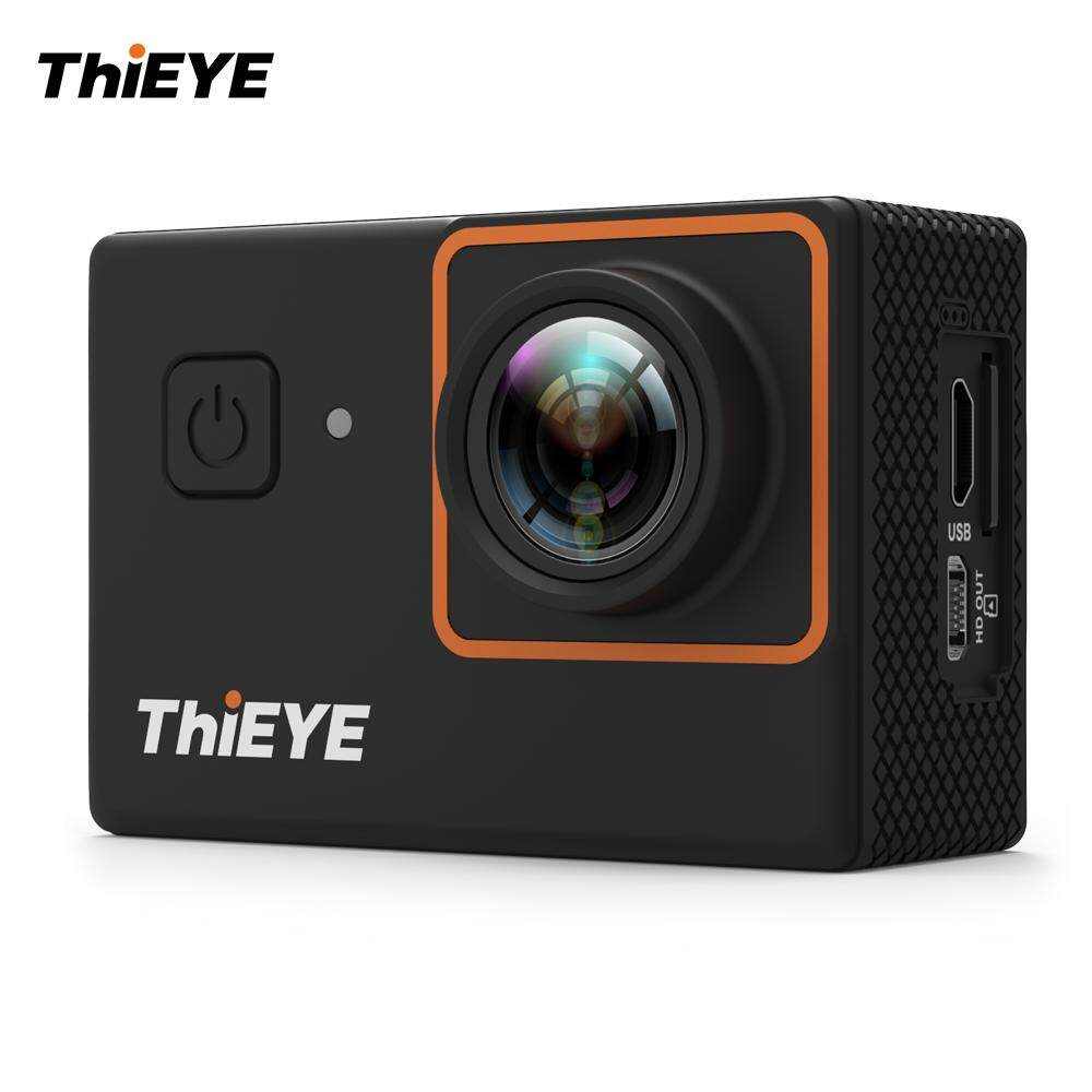 ThiEYE i30+ 4K 12MP WiFi Action Camera 197ft Waterproof Sports Camcorder 2.0
