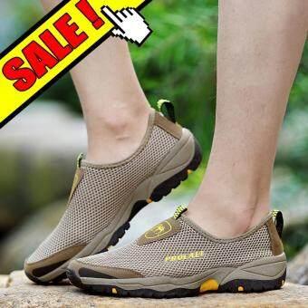 Yealon Musim Panas Sneakers untuk Pria Sepatu Kasual Sepatu Olahraga untuk  Daki Gunung . 59307a0452