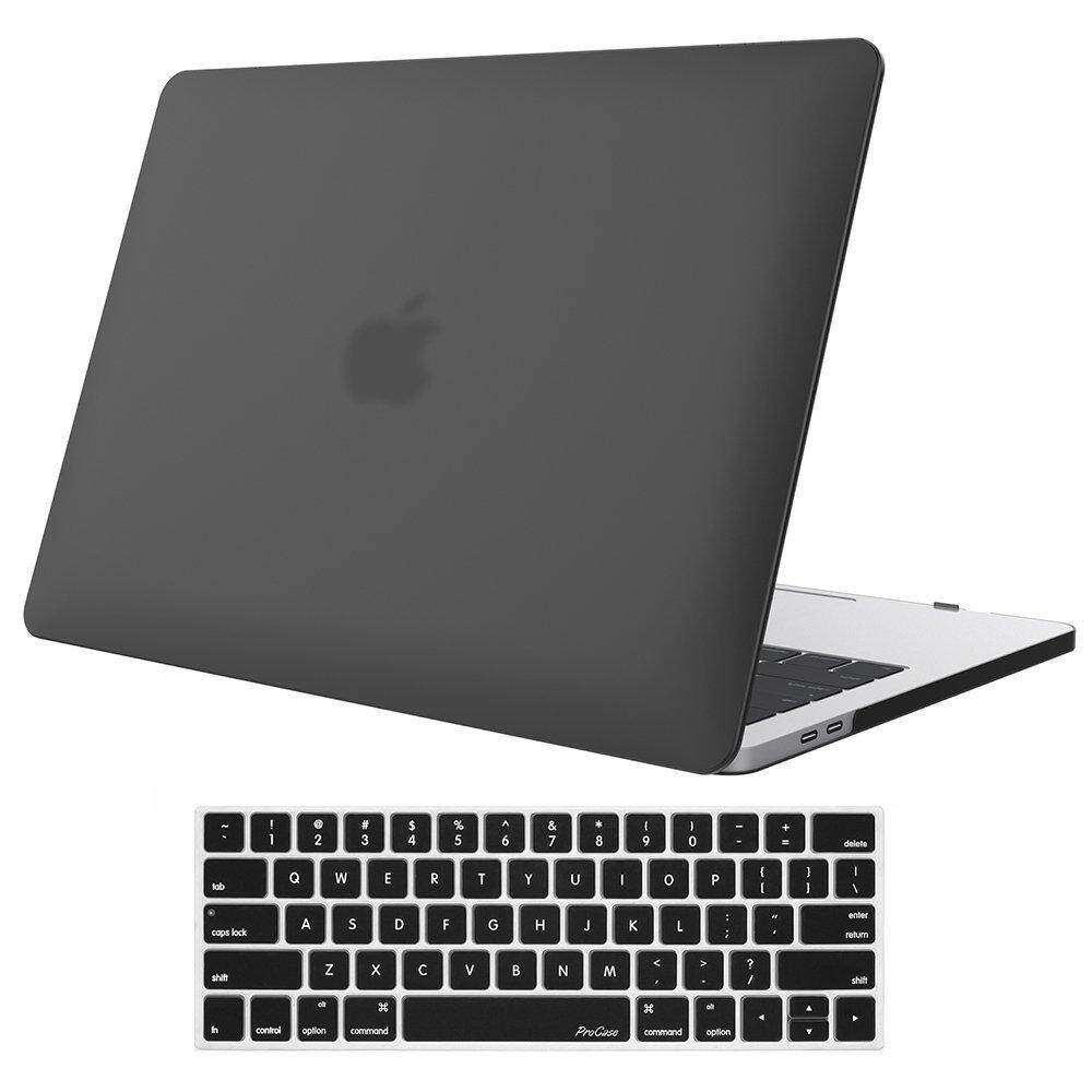 Macbook Pro 13 Inch Case 2018 & 2017 & 2016 Release A1706/a1708, Procase Hard Case Shell Cover And Keyboard Skin Cover For Apple Macbook Pro 13 Inch With/without Touch Bar And Touch Id.