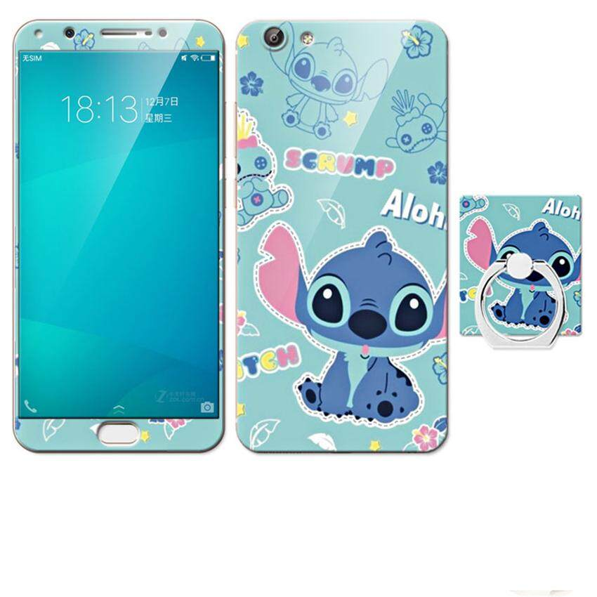 ... Silikon Pria dan. Source · Luxury 3D Painting Front+Back Full Case Cover Color Tempered Glass Case For vivo Y69