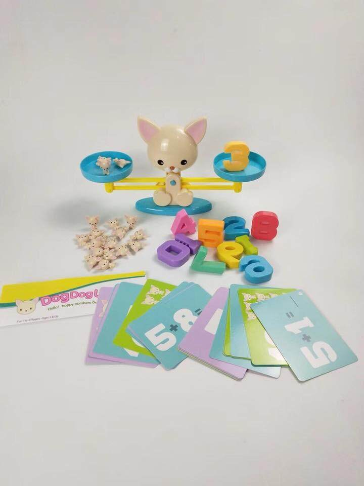 Happy Numbers Educational Mathematics Game Playset toys for girls
