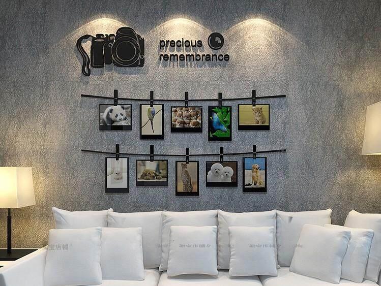 3D Photo Frame Wall Decoration(80 x 89cm)