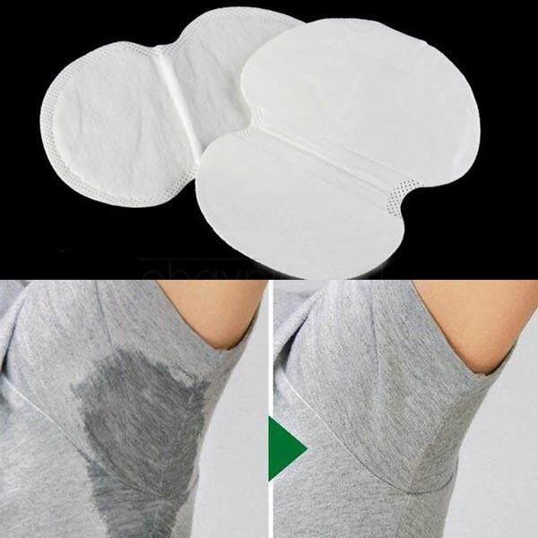 50Pcs /100Pcs Disposable Underarm Sweat Guard Pad Armpit Sheet Liner Dress Clothing Shield Deodorants Underarm Sweat Pads - intl Philippines