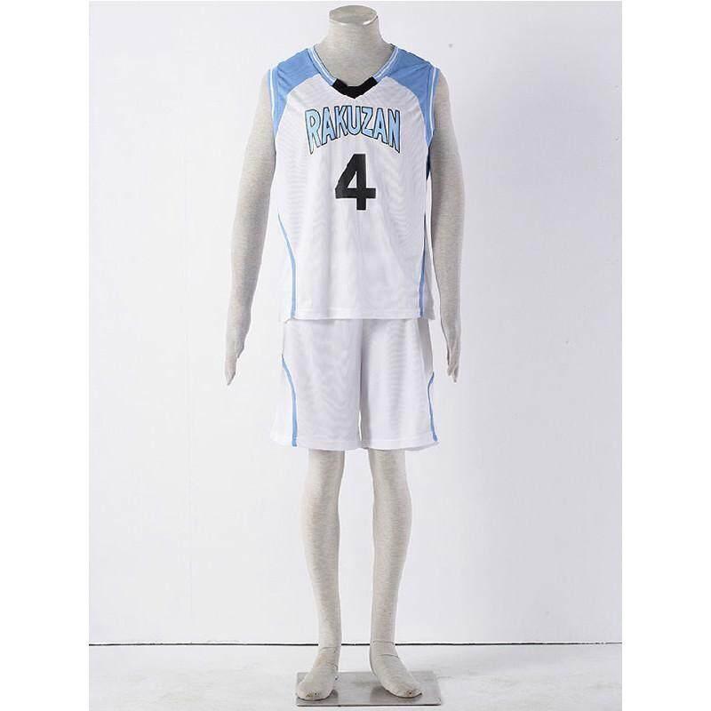 3436c520b Costume Anime Kuroko no Basuke RAKUZAN School Basketball Uniform Clothes  Akashi Seijuro Sport Cosplay Costume -