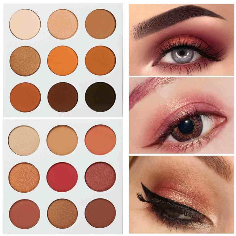 Buy Sell Cheapest Palette Make Up Best Quality Product Deals Wardah Double Function Kit Concealar Eye Shadow Dongxi 9 Colors Eyeshadow Natural Nude Shimmer Matte Color Pigments Glitter