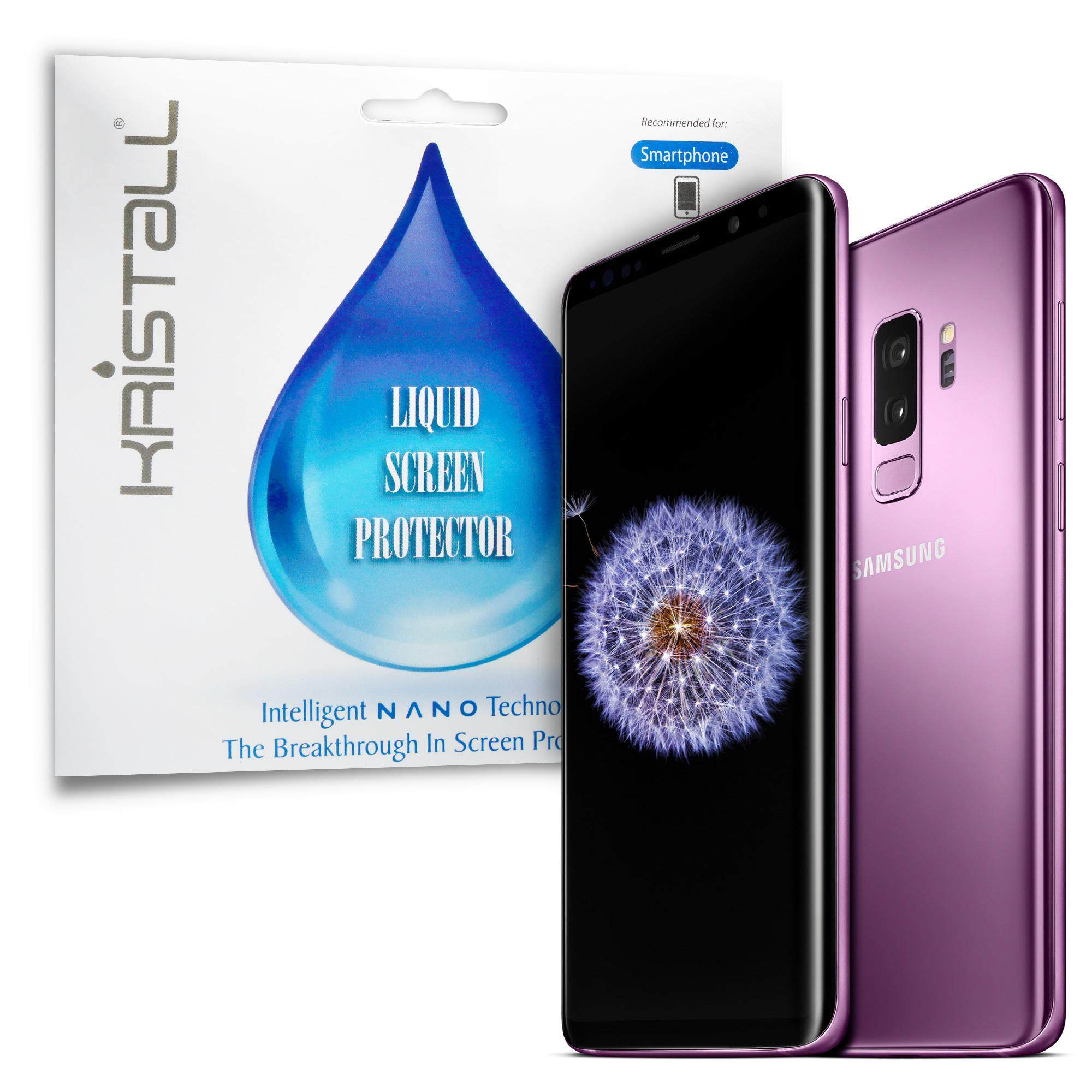 Samsung Galaxy S9 Galaxy S9+ Screen Protector - Kristall® Nano Liquid  Screen Protector (Bubble-FREE Screen Protector, 9H Hardness, Scratch  Resistant)