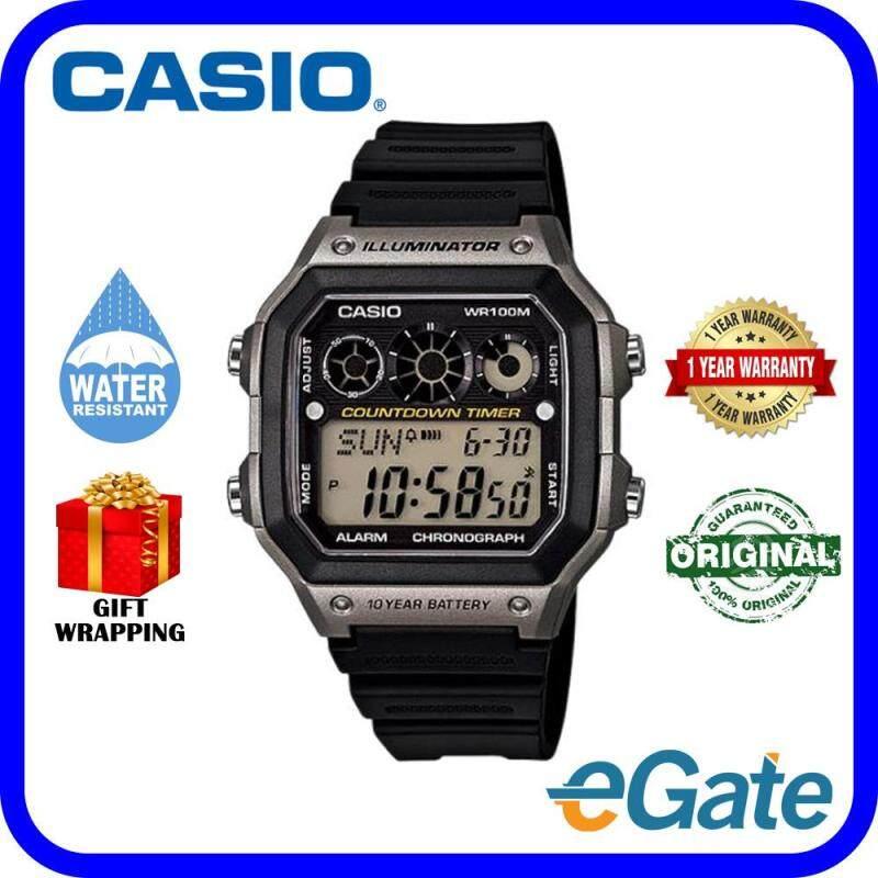 Casio AE-1300WH-8AV Unisex Watch Digital Timepieces Original Malaysia