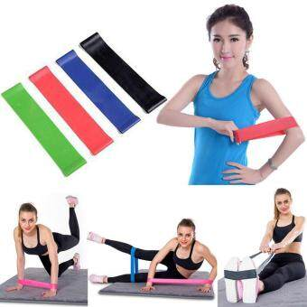 การเปรียบเทียบราคา Bloomyshop-4Pcs Resistance Band Loop Exercise Yoga Bands Workout Fitness Training Cross Fit find price - มีเพียง ฿79.16