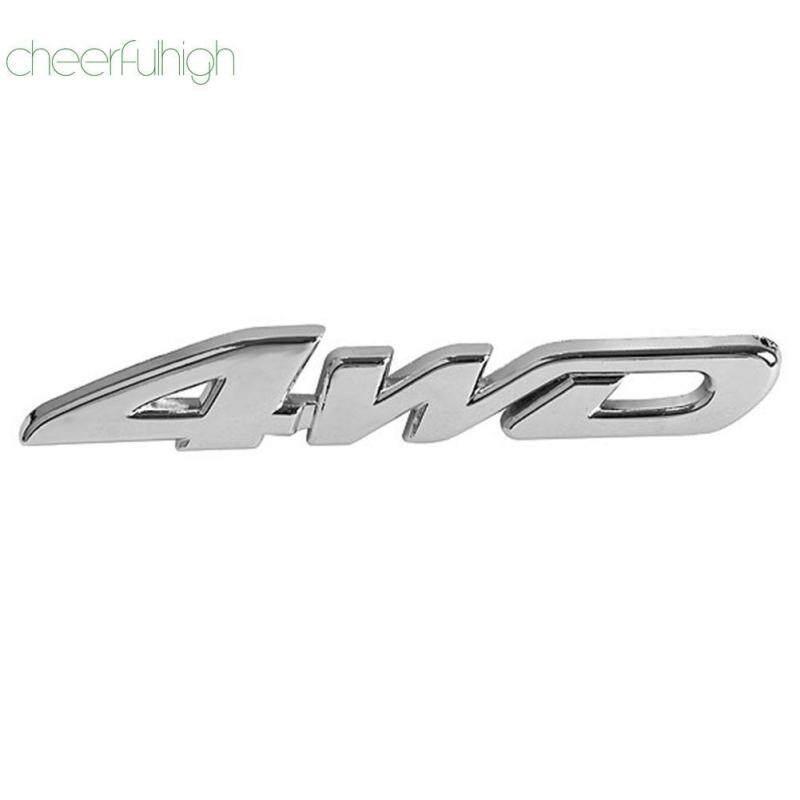 [NEW]4WD Car Auto Tailgate Sticker Trunk Lid Emblem Badge Decal 3D Chrome Metal