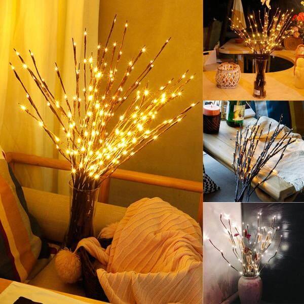 Đèn LED Cây Sáng Tạo Chi Nhánh Ban Đêm Đèn, Trang Trí Nhà Lễ Cưới Giáng Sinh