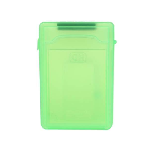 3.5 Inch SATA IDE HDD Shockproof Anti-static Storage Tank Box Case (Green)