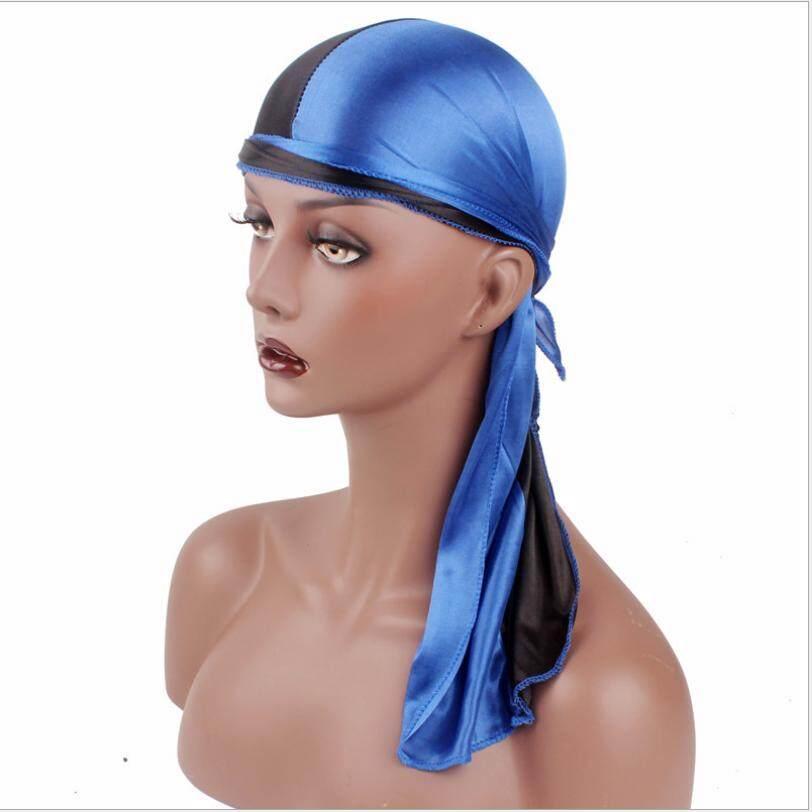 Detail Gambar Solid Fashion Wanita Pria Halus Durag Pembungkus Kepala Topi  Musim Panas Bandana Kain Topi d59540417c