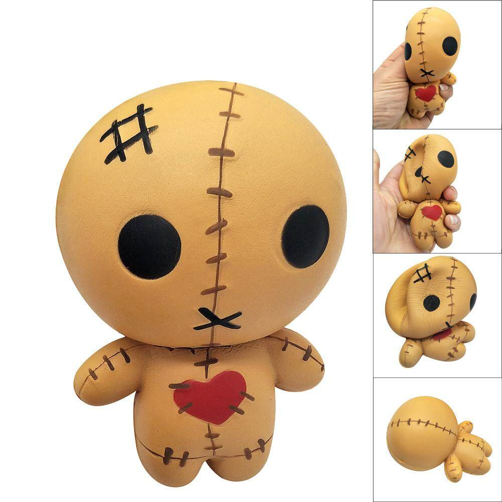 Fantnesty Squeeze Horror Doll Scented Squishy Charm Slow Rising 8cm Simulation Kid Toy